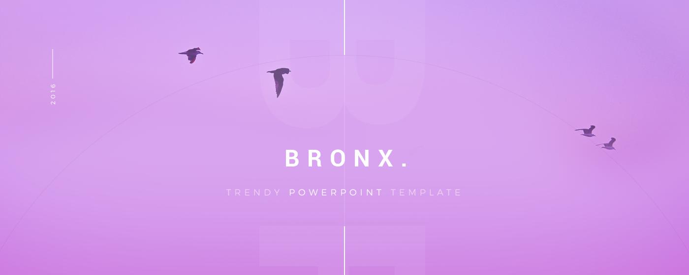 Bronx Free Presentation Template