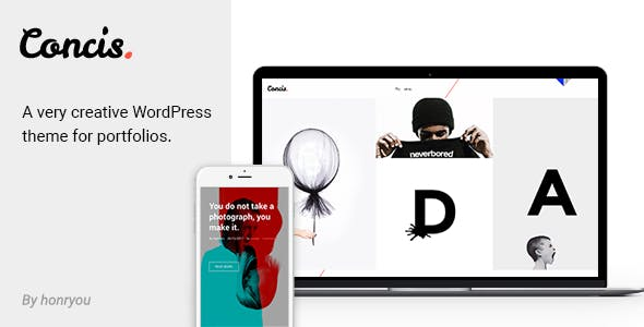 Concis - Creative Portfolio Theme