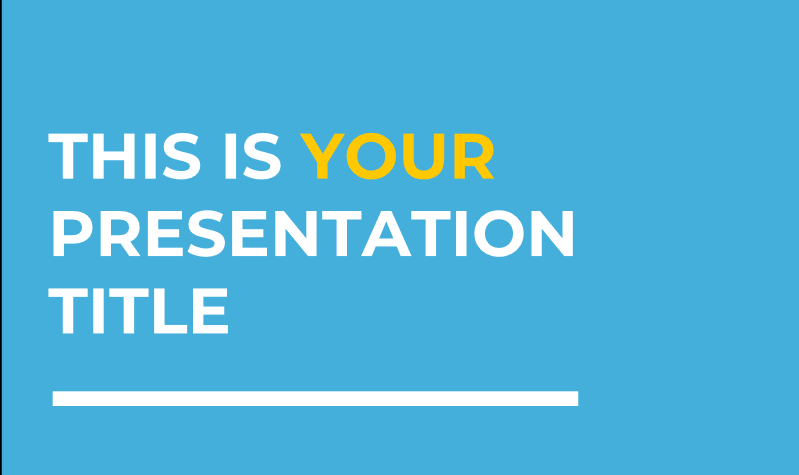 Mercutio Presentation Template