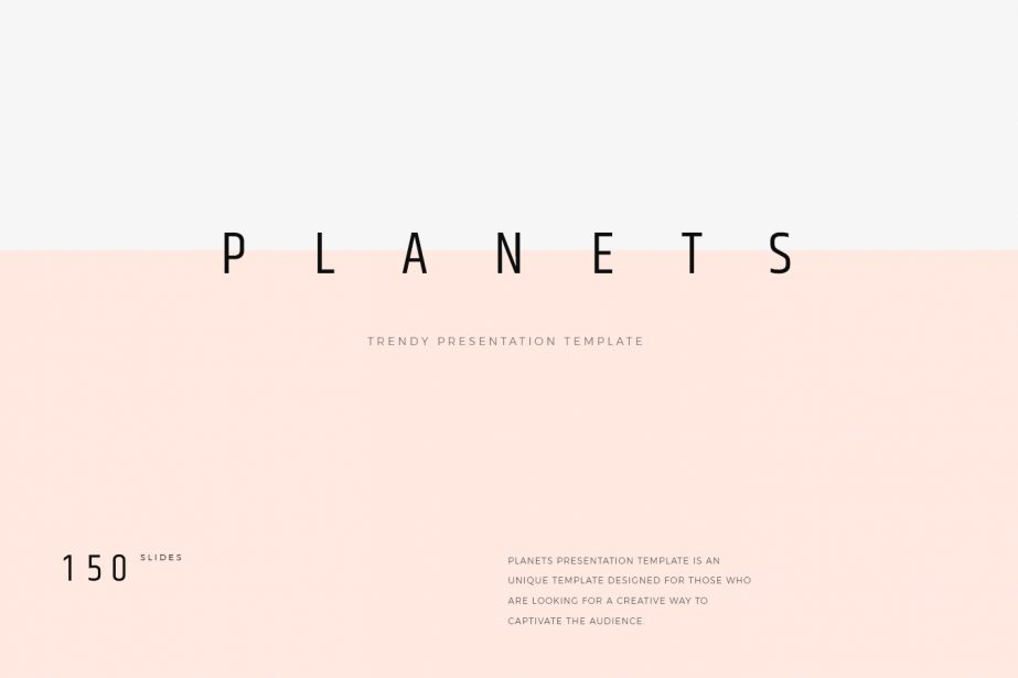 Planets Free Presentation Template