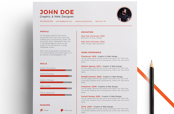 Resume Template Free