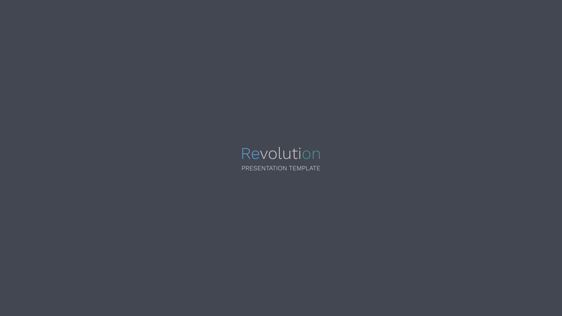Revolution - Creative PowerPoint Template