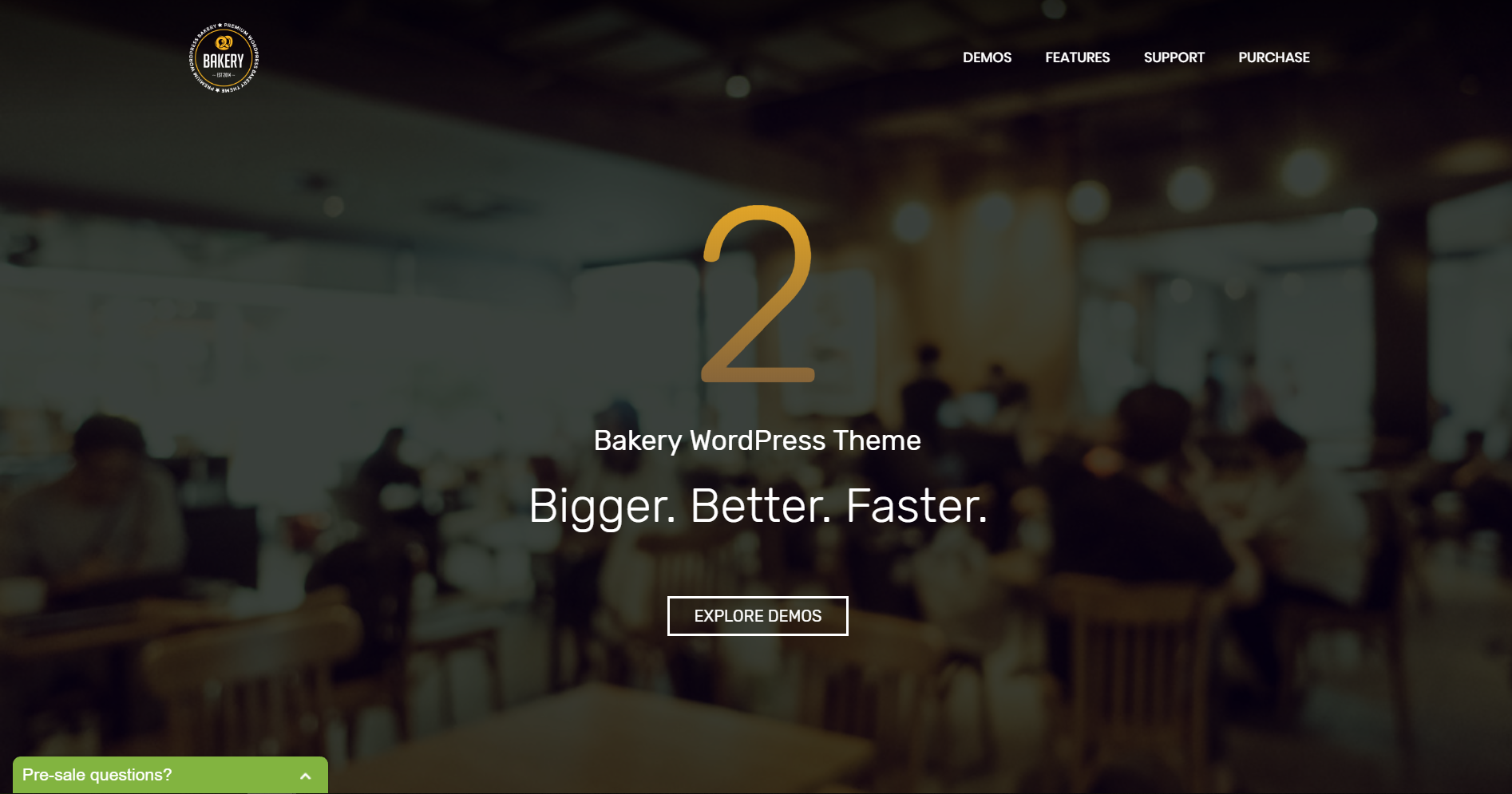 19. Bakery WordPress Bakery, Cakery & Food Theme
