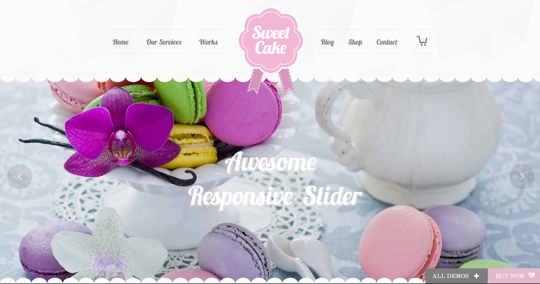 26. Sweet Cake - WP Theme for Bakery Yogurt Chocolate & Coffee Shop