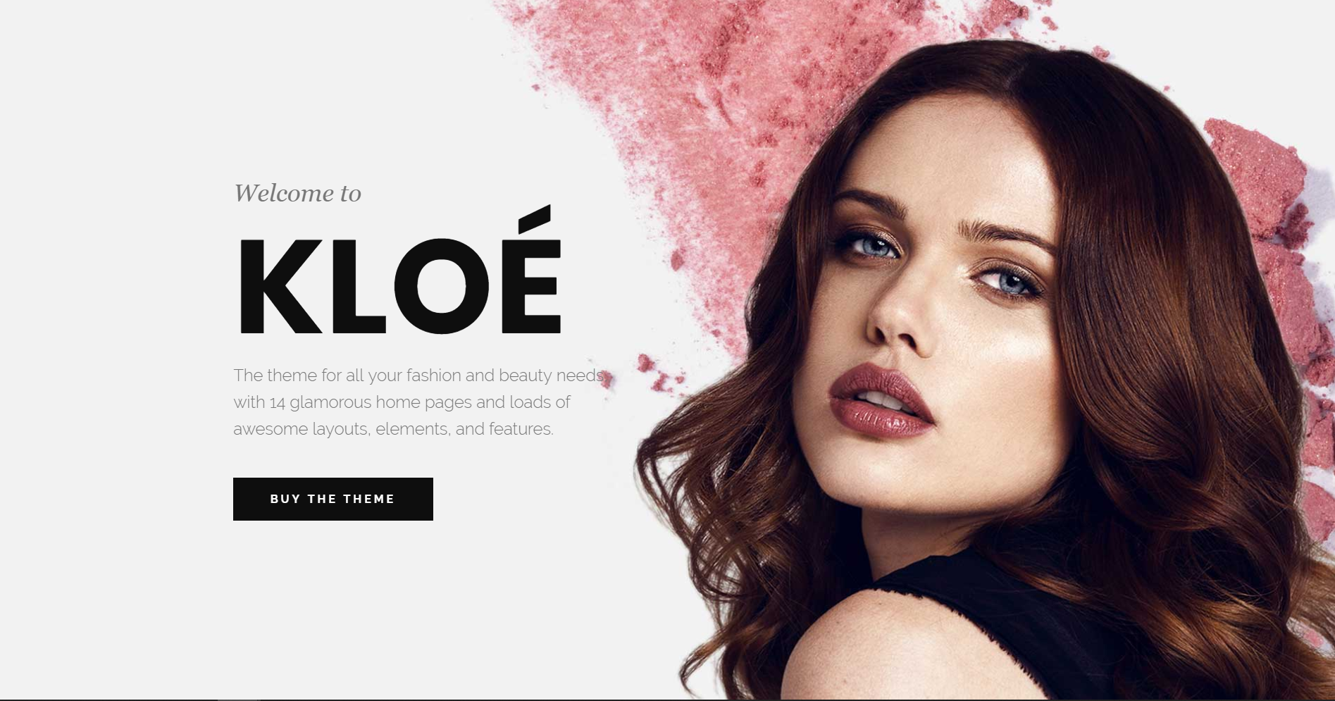 28. Kloe - Fashion & Lifestyle Multi-Purpose Theme