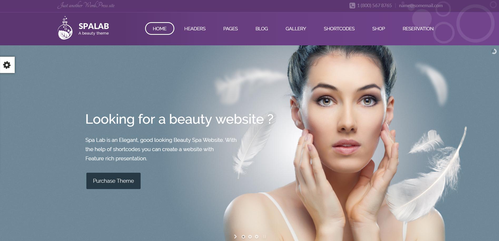 3. Spa Lab Beauty Spa, Health Spa Theme