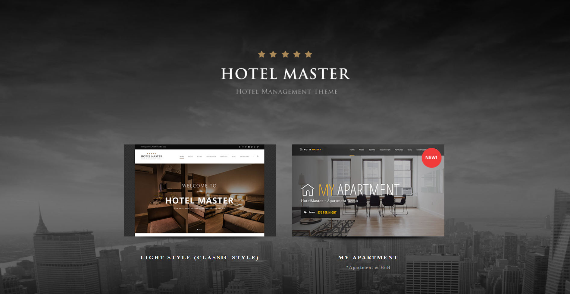 42. Hotel WordPress Theme for Hotel Booking Hotel Master