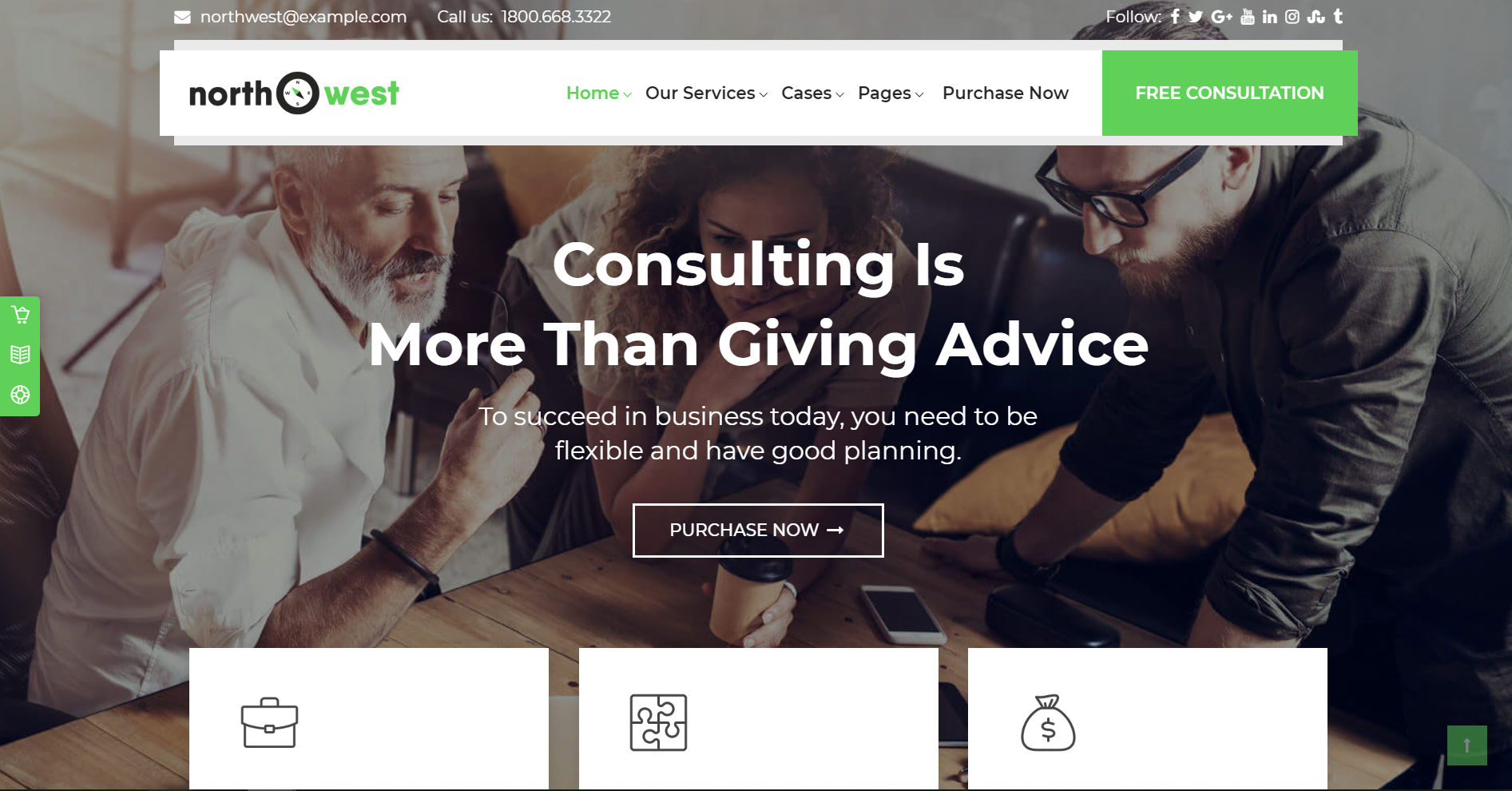 42. Northwest - Consulting WordPress Theme