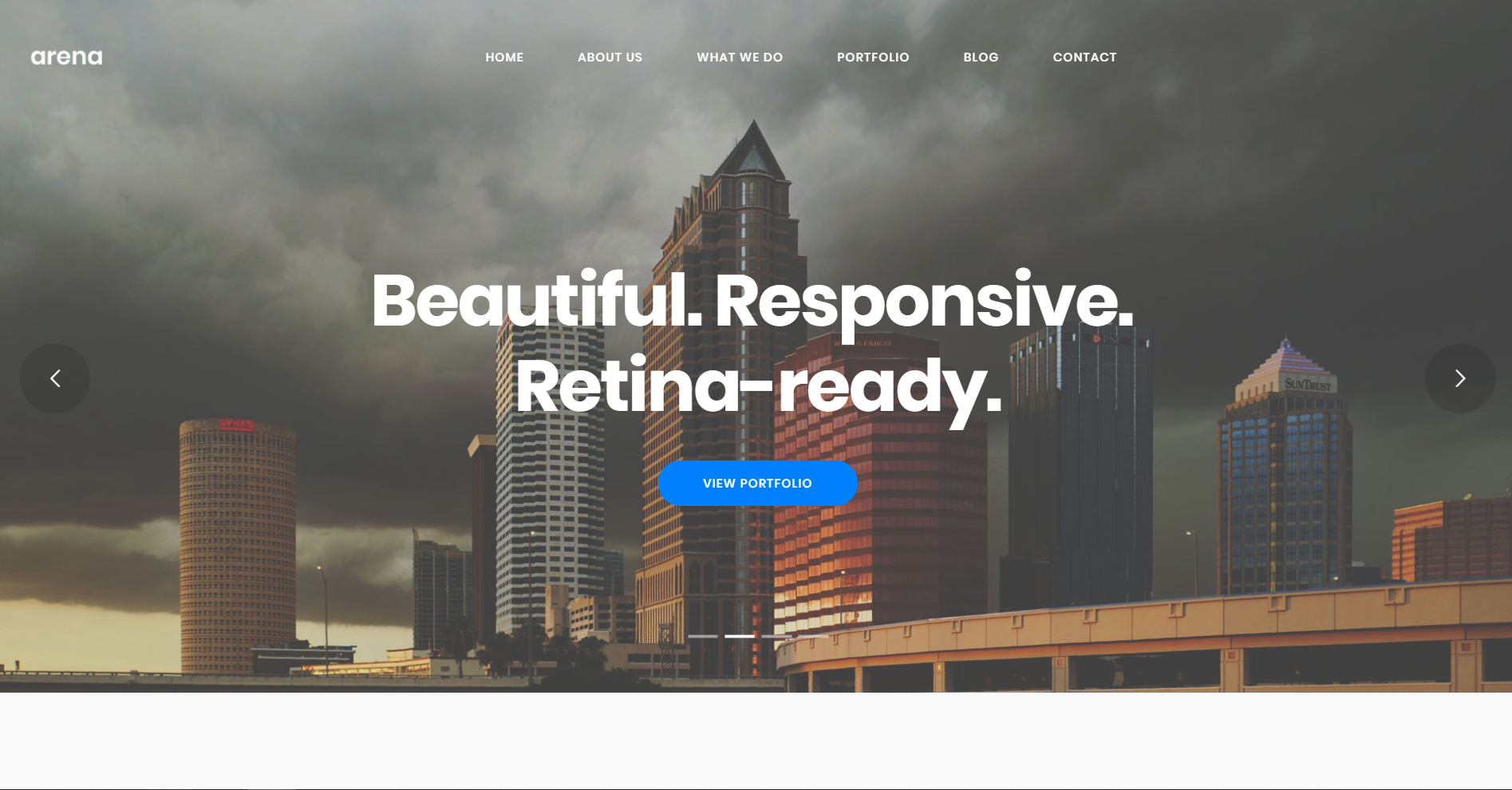 45. Arena - Business & Agency WordPress Theme