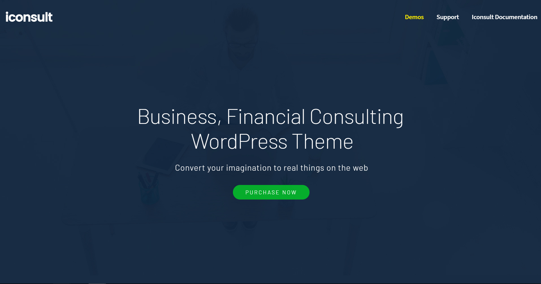 47. iConsult - Business, Financial Consulting WordPress Theme
