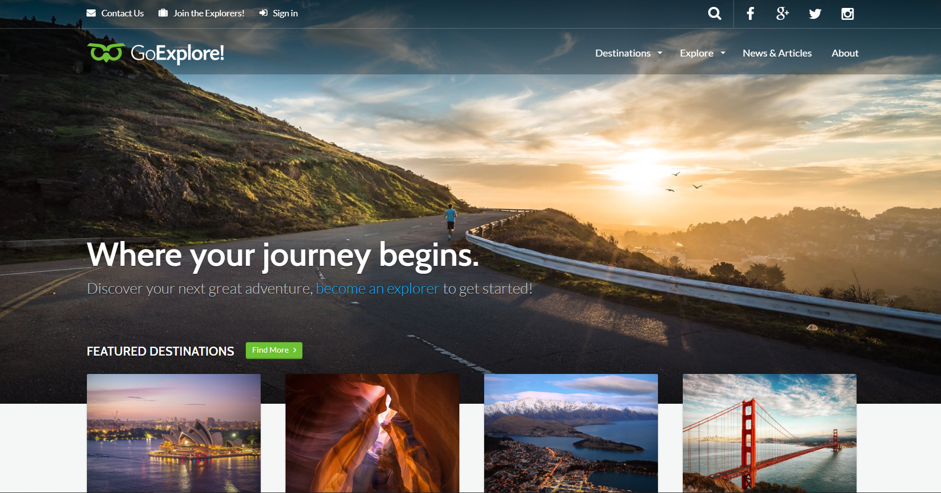 48. Travel WordPress Theme - GoExplore!