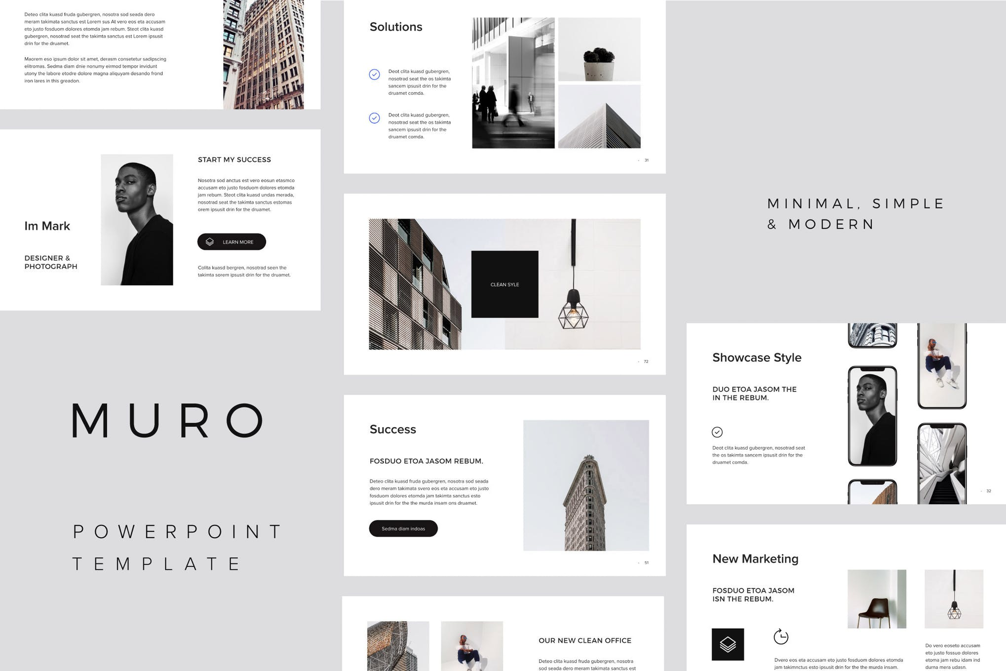 PowerPoint Minimal Template