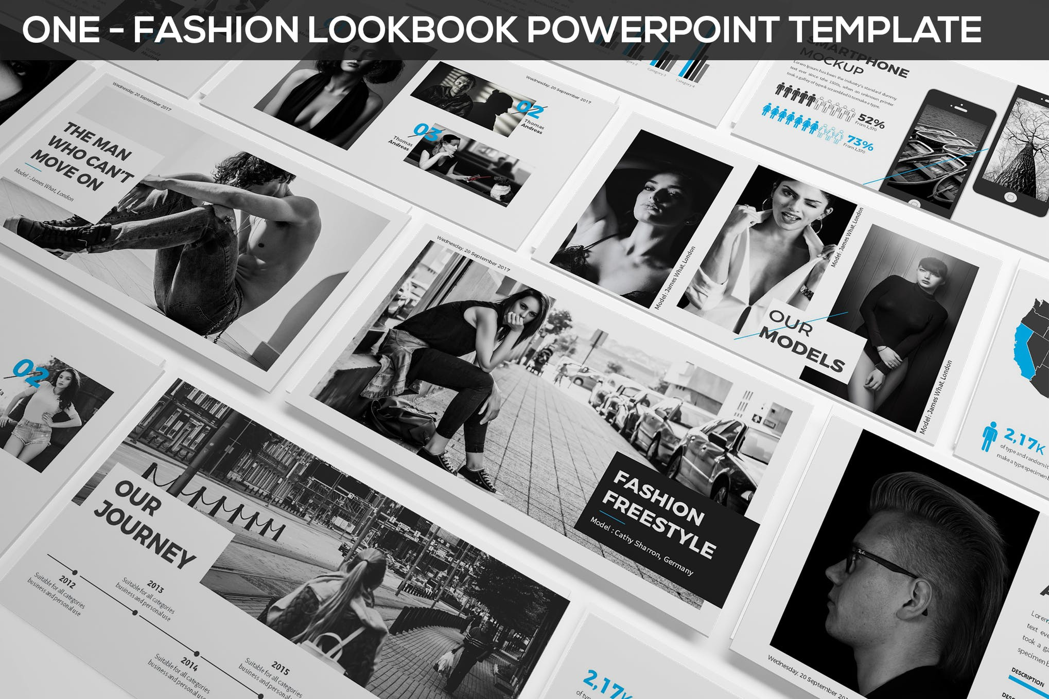 Fashion & Photography Presentation Template