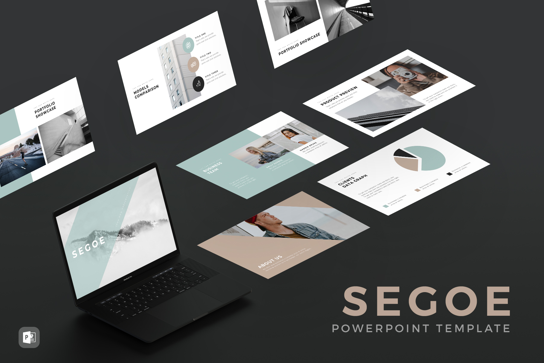 30 Simple and Minimalist PowerPoint Templates