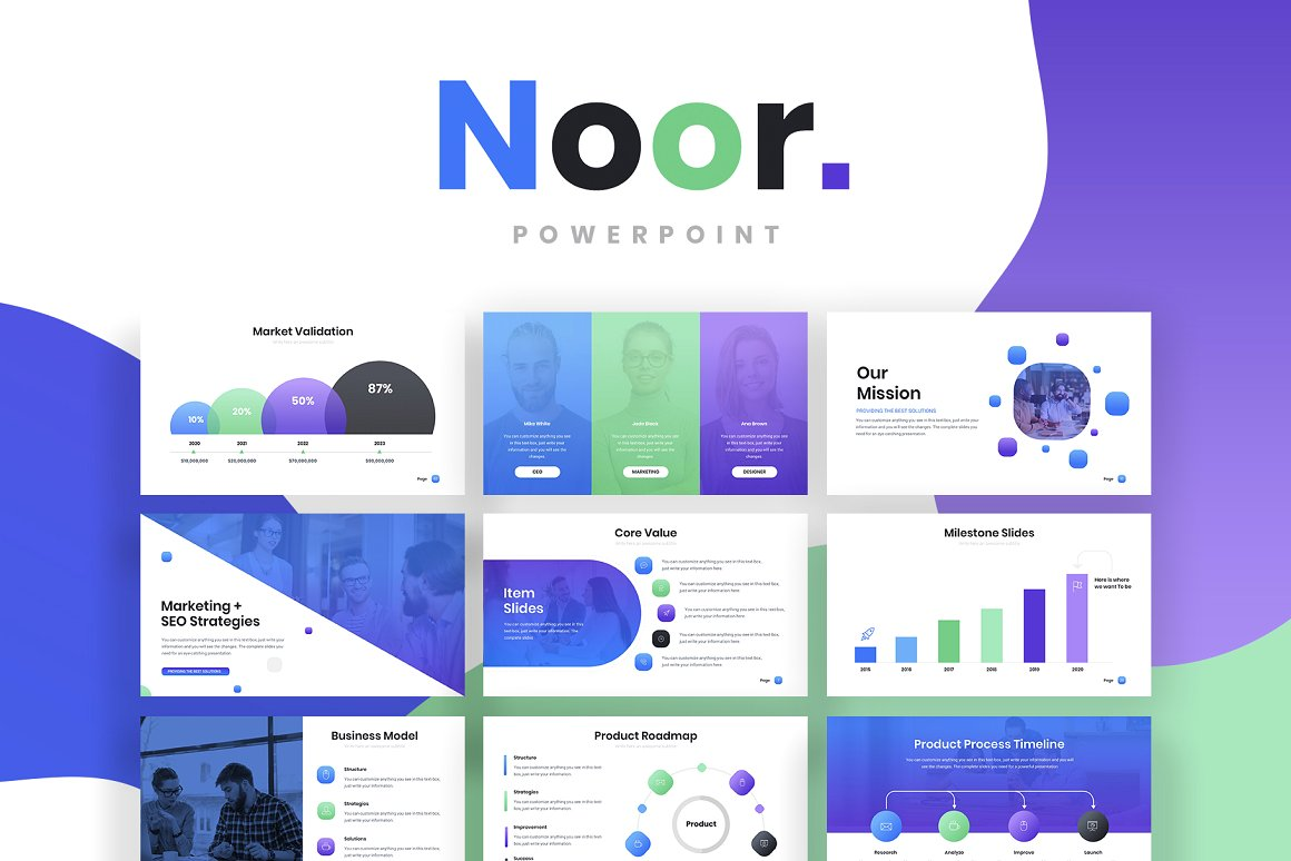 Noor Powerpoint Template