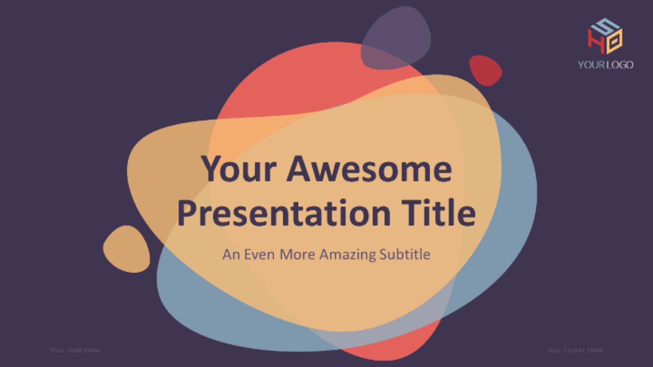 Bubbler Modern Free Powerpoint Template