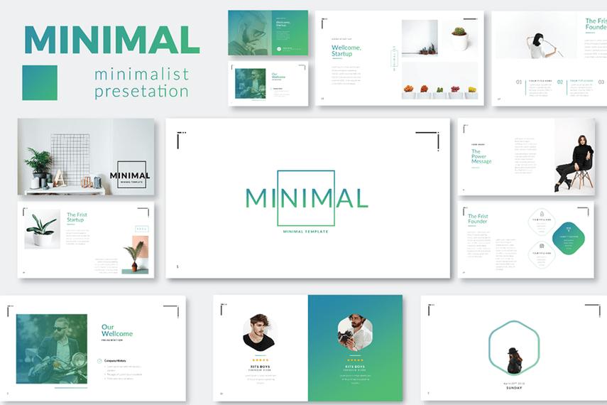 Minimal Minimalist Template Demo