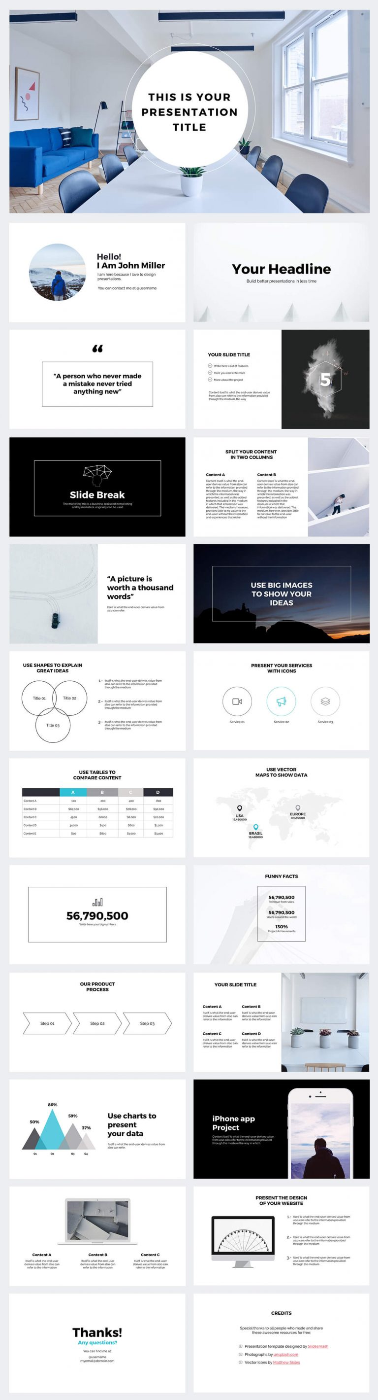 Strategy Free Business PowerPoint Template
