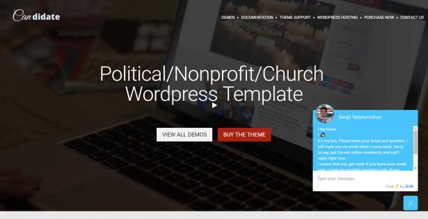 Corporate WordPress