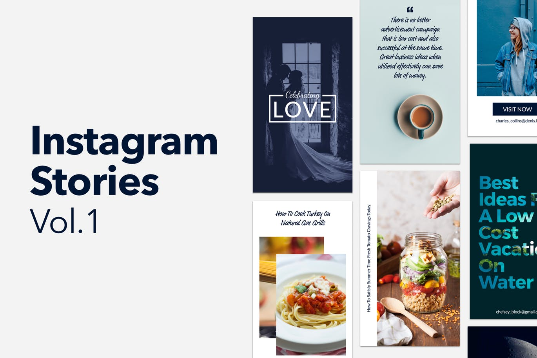 Instagram PSD Templates