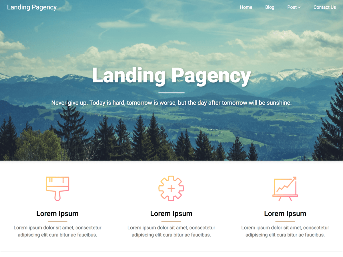 Best Free Landing Pages