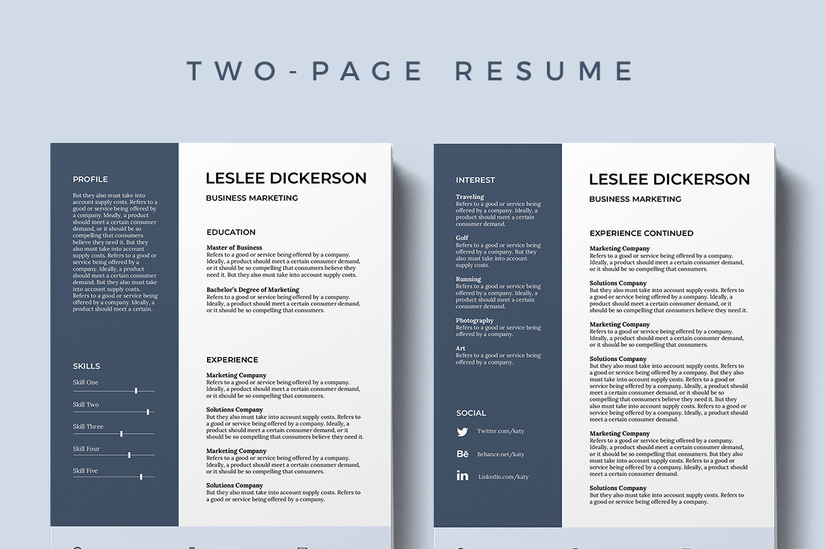 It Has A Very Organized Yet Modern Layout That Looks Like Belongs To Hard Worker With An Open Mind Ready For Whatever They Need Do Resume Template