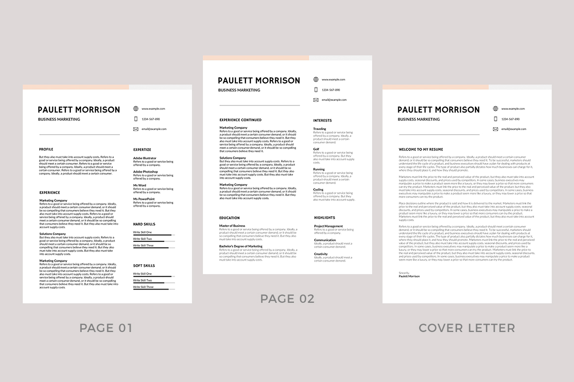 75 Best Free Resume Templates Of 2019