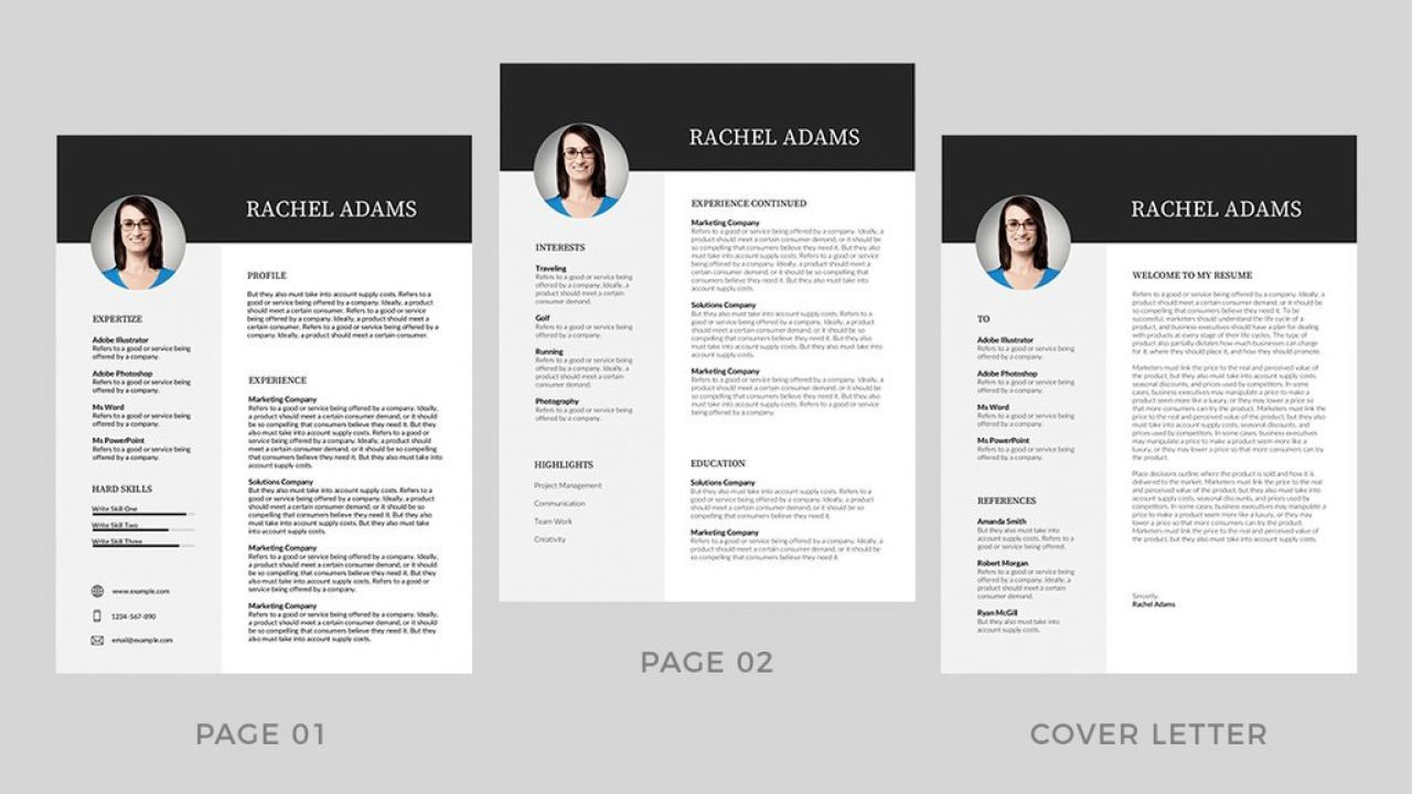 20 Best Modern Resume Templates Word 2019