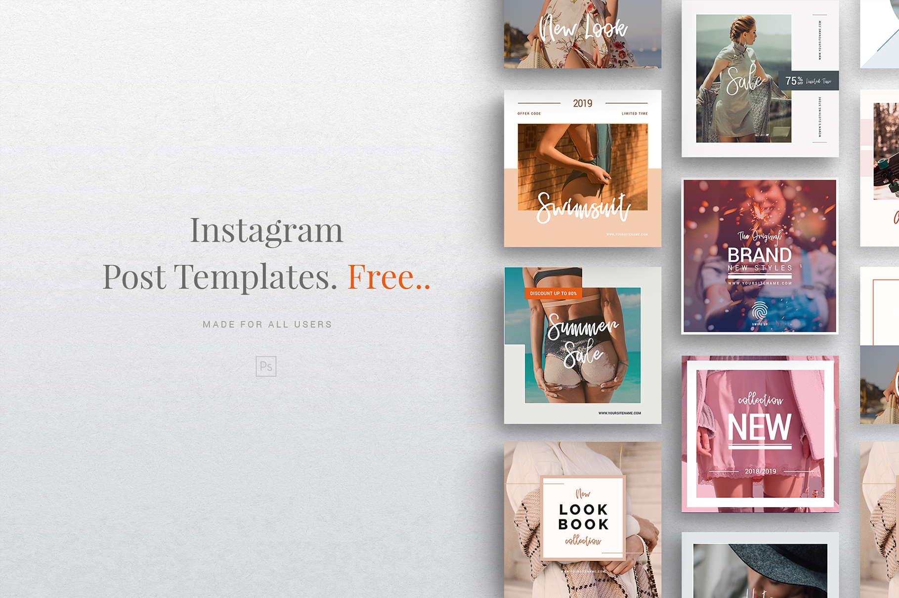 TOP 50 Best Instagram Templates to Increase your Followers