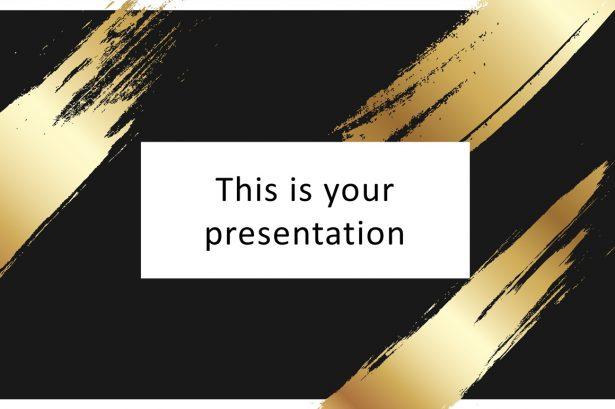 Free Elegant PowerPoint Template
