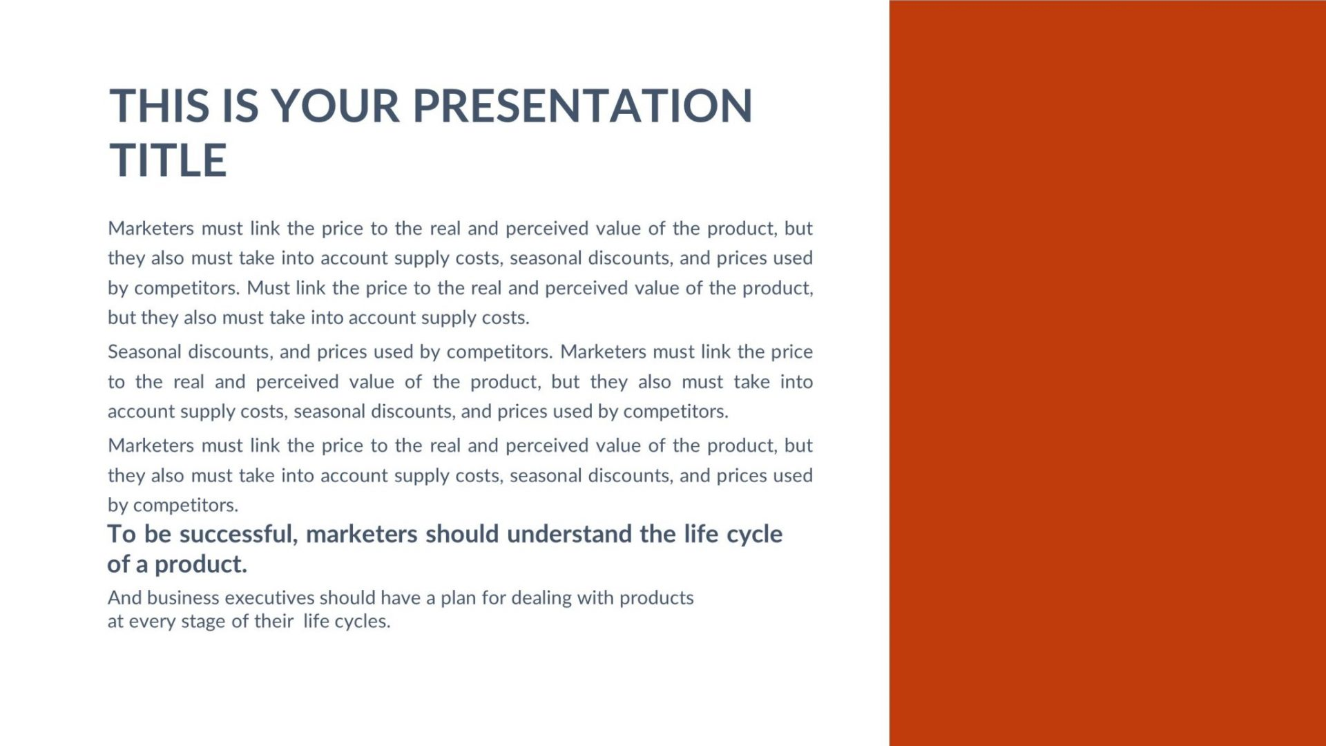 Kitchen Free PowerPoint Template