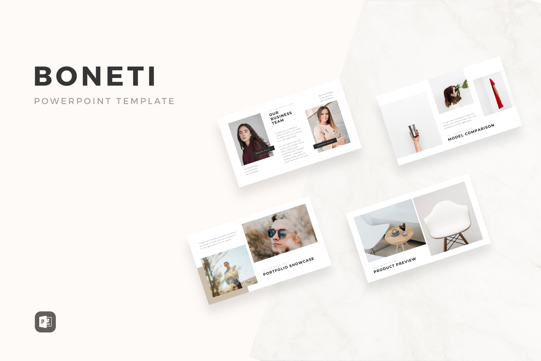 Minimalist and Simple Presentation Templates