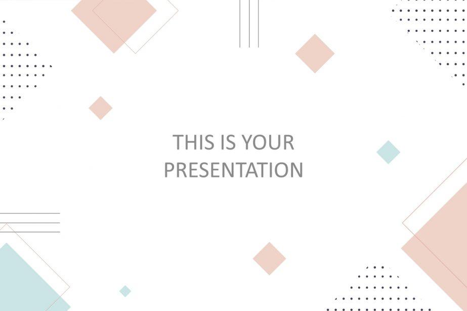 Free Minimalist Presentation