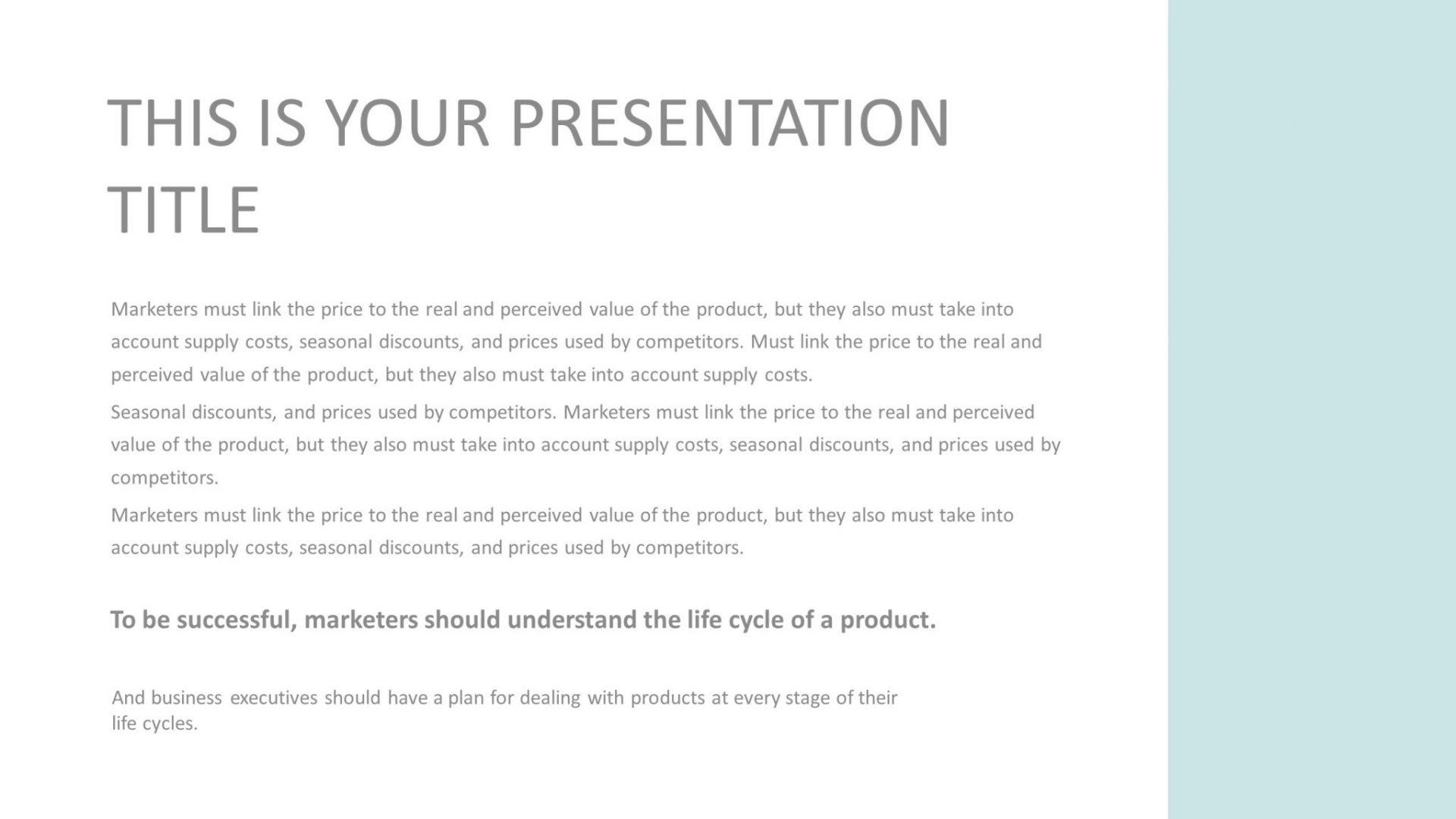 Free Minimal Presentation