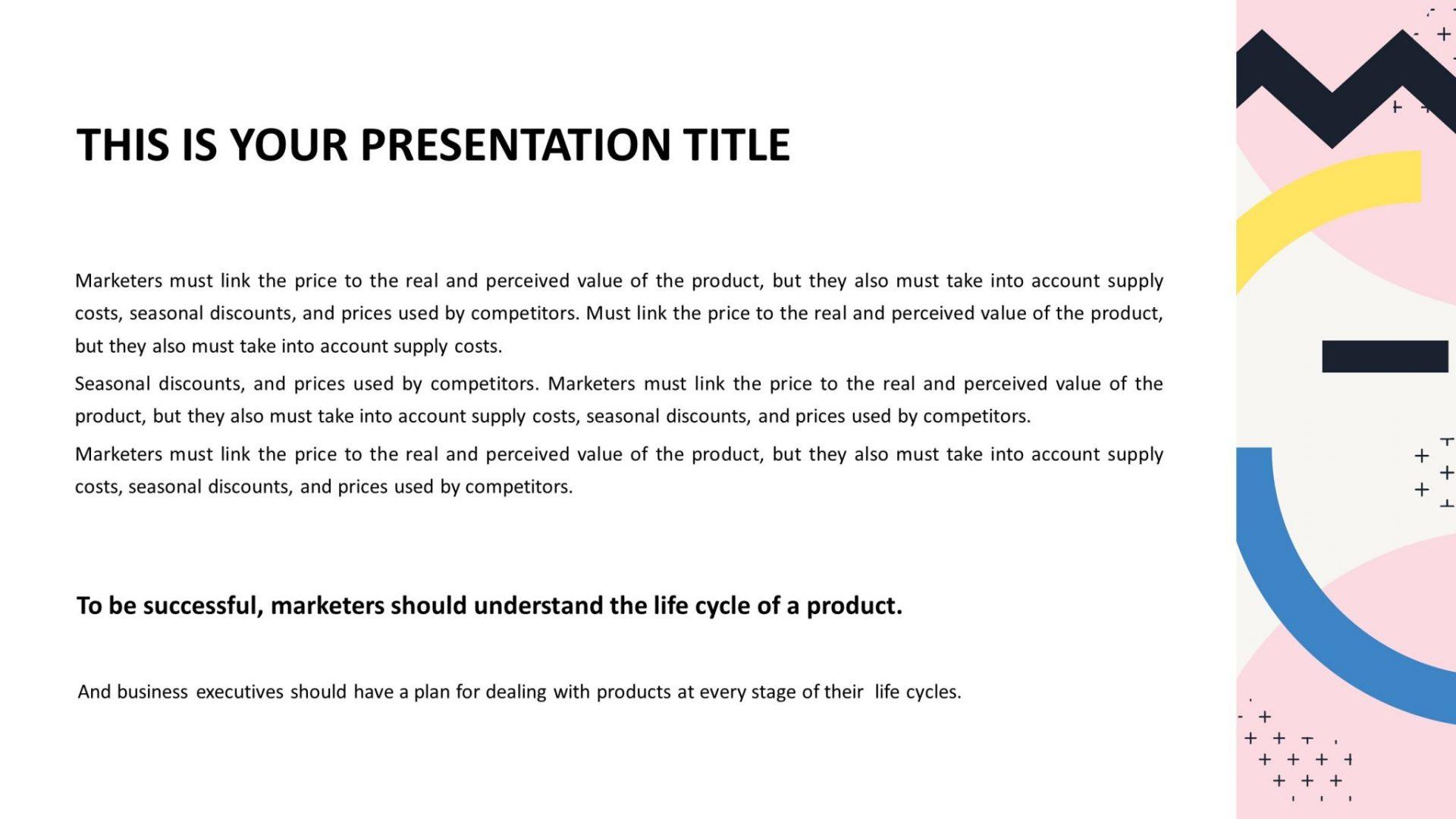 Free Minimal PowerPoint