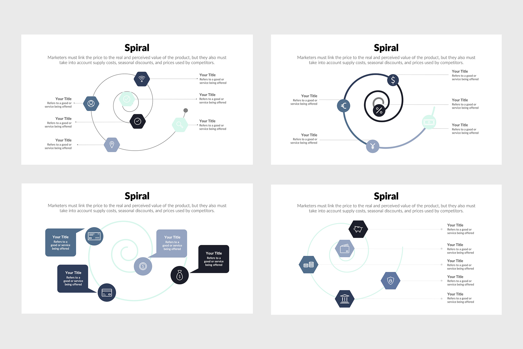 Stylish Spiral Diagrams