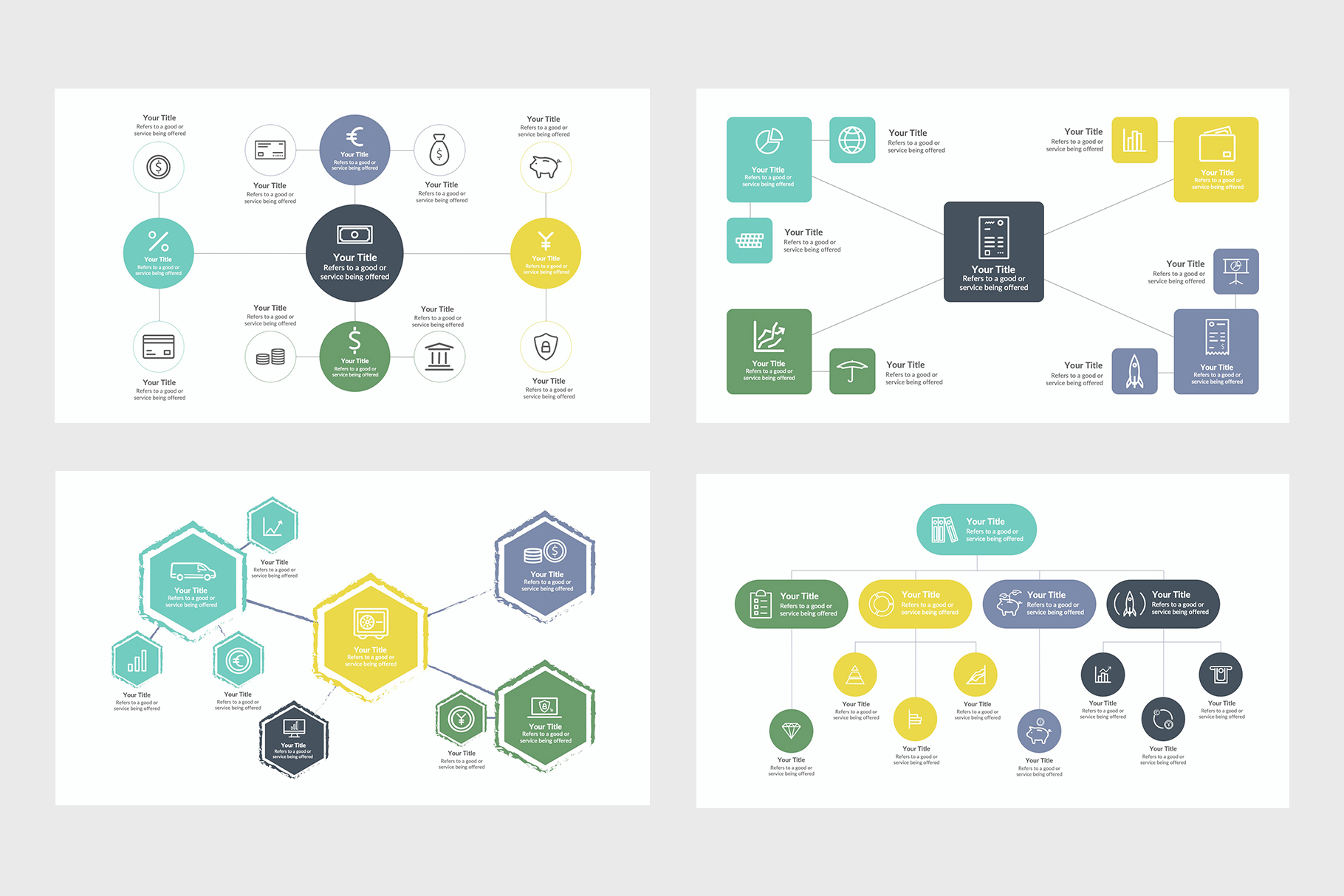 Professional Mindmap Infographics for PowerPoint