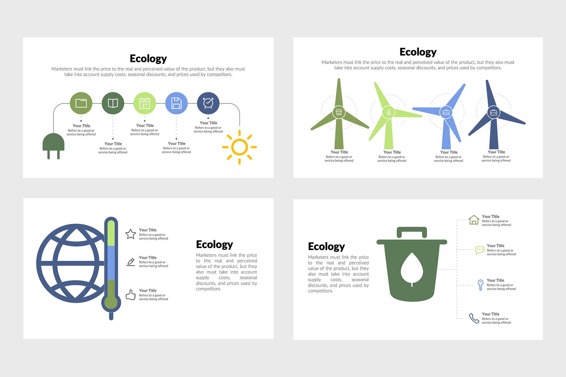 Ecology Infographics for PowerPoint