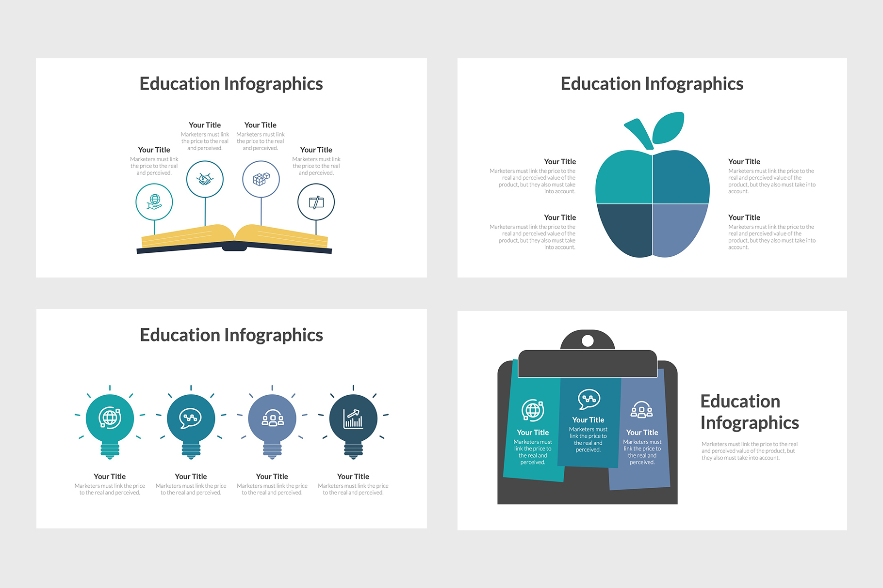 Creative Education Templates for Professors