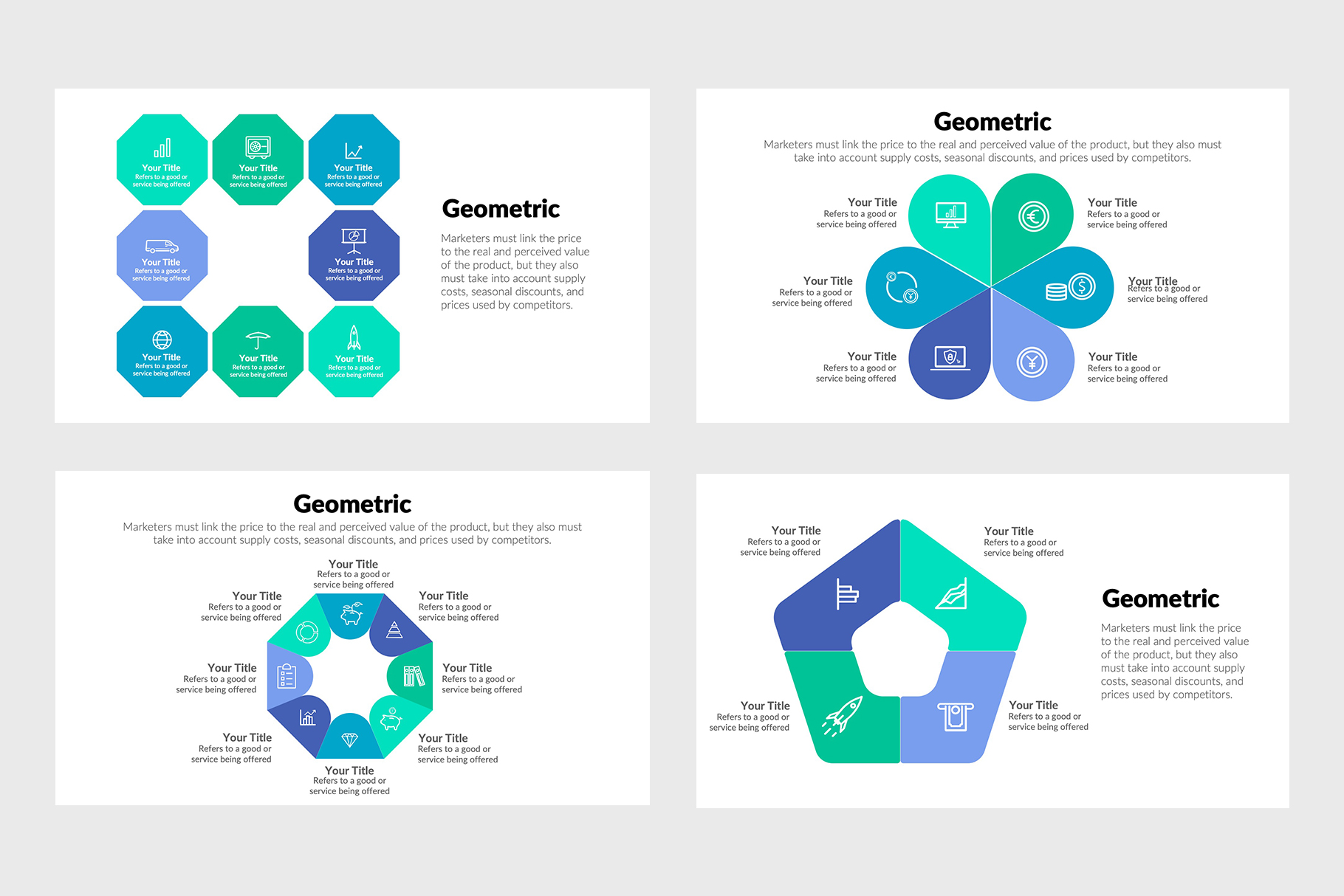 Best Geometric Infographics
