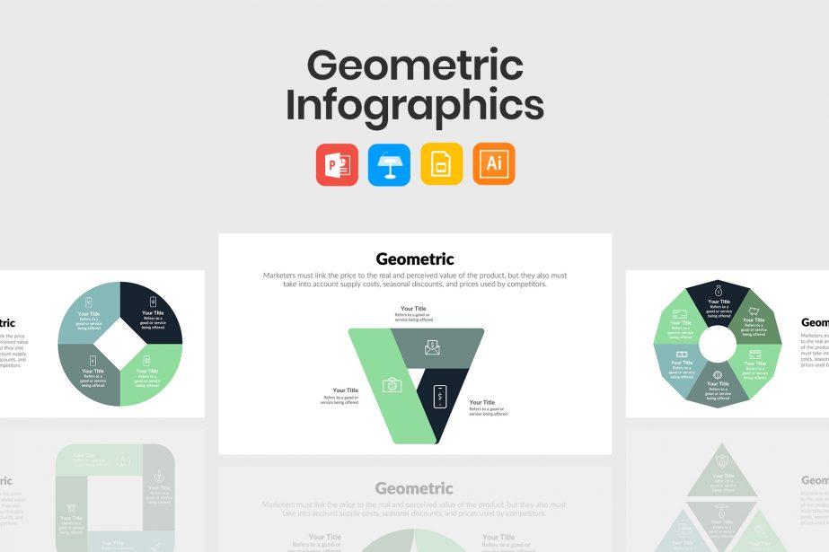 Best Geometric Infographics