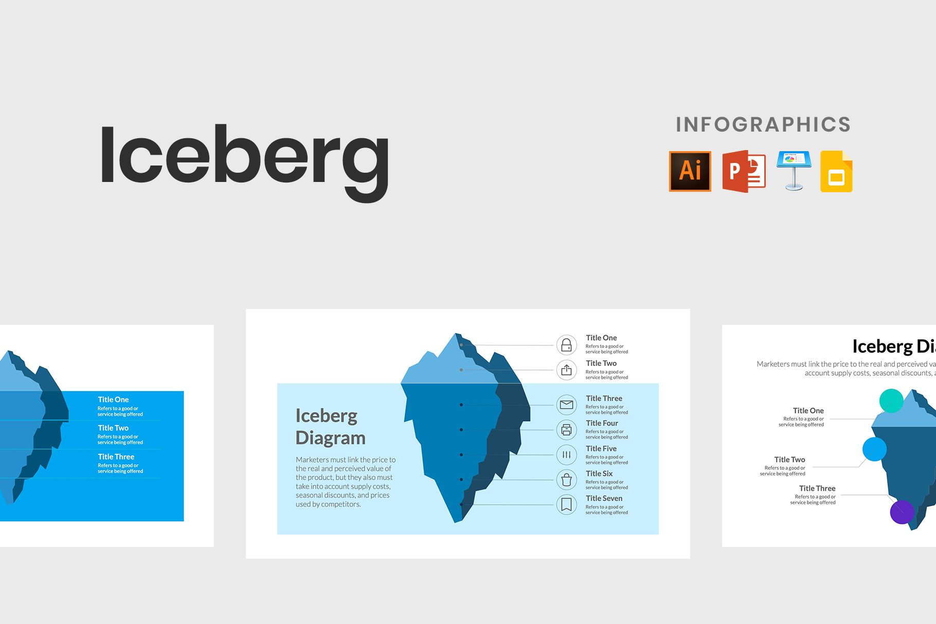 Best Iceberg Infographics