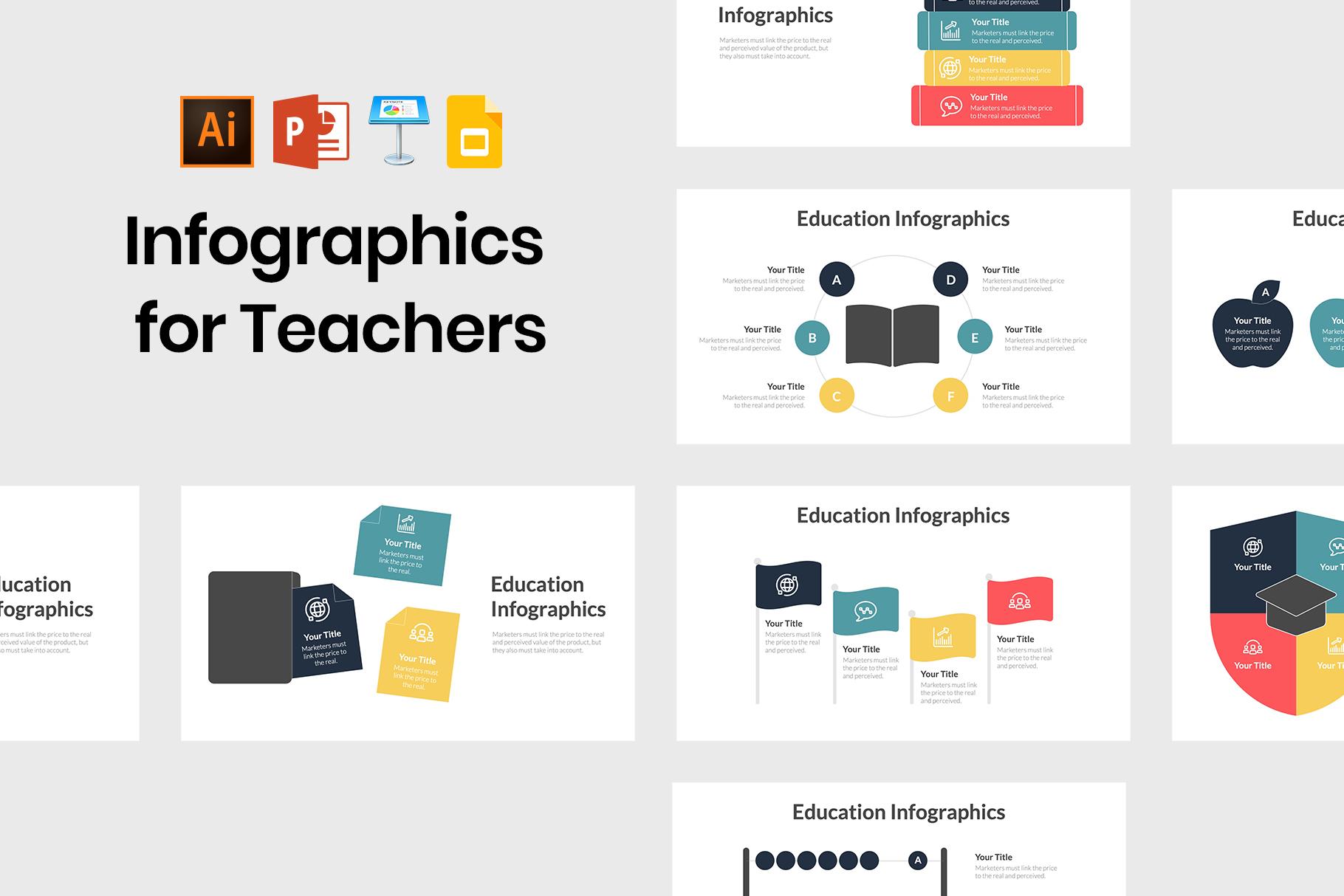 Creative Education Templates for Professors