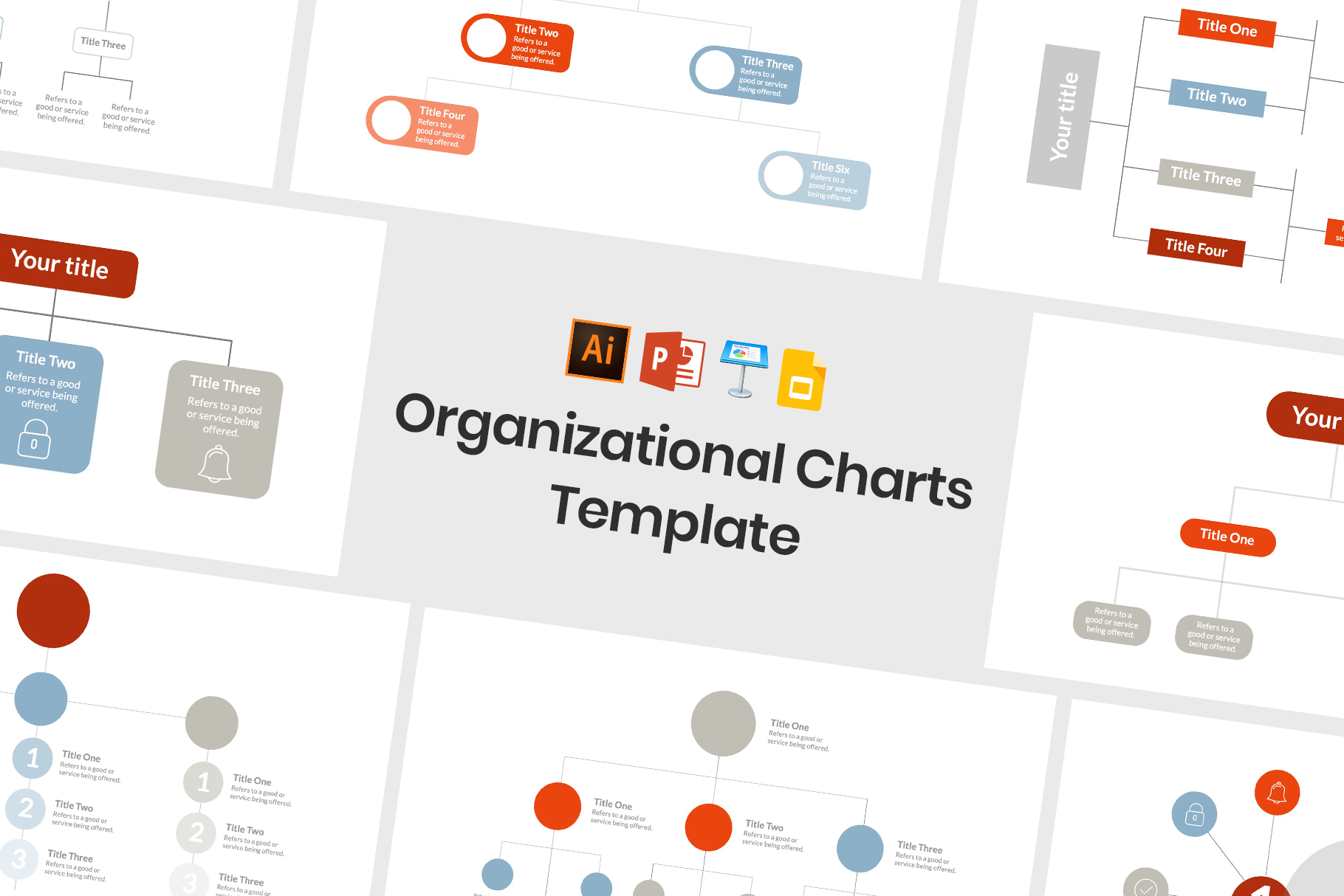 Great Organizational Charts for Keynote