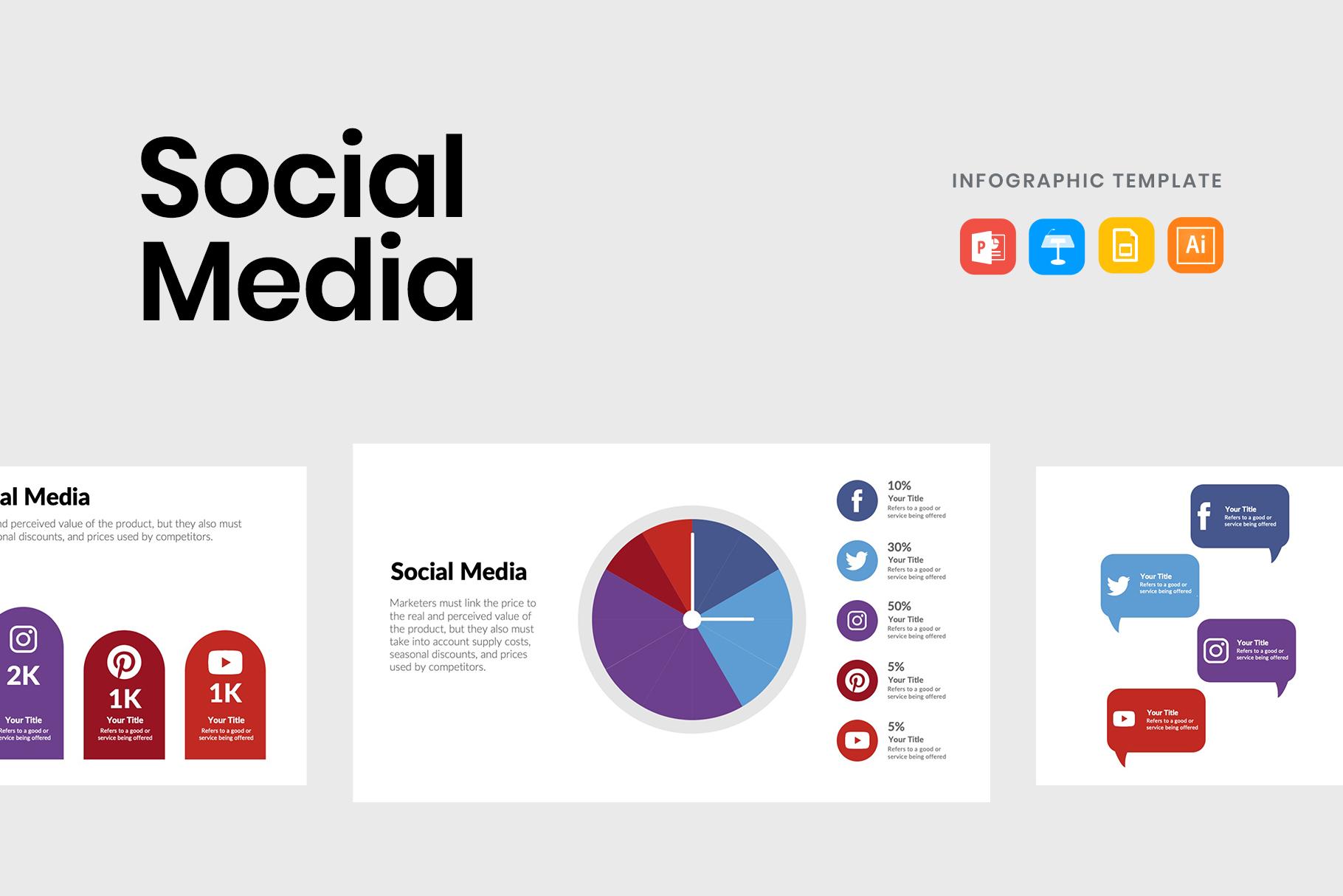 Social Media Diagrams to Promote