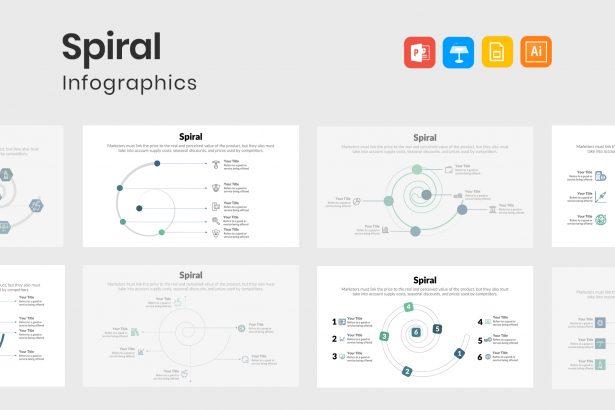 Stylish Spiral Diagrams