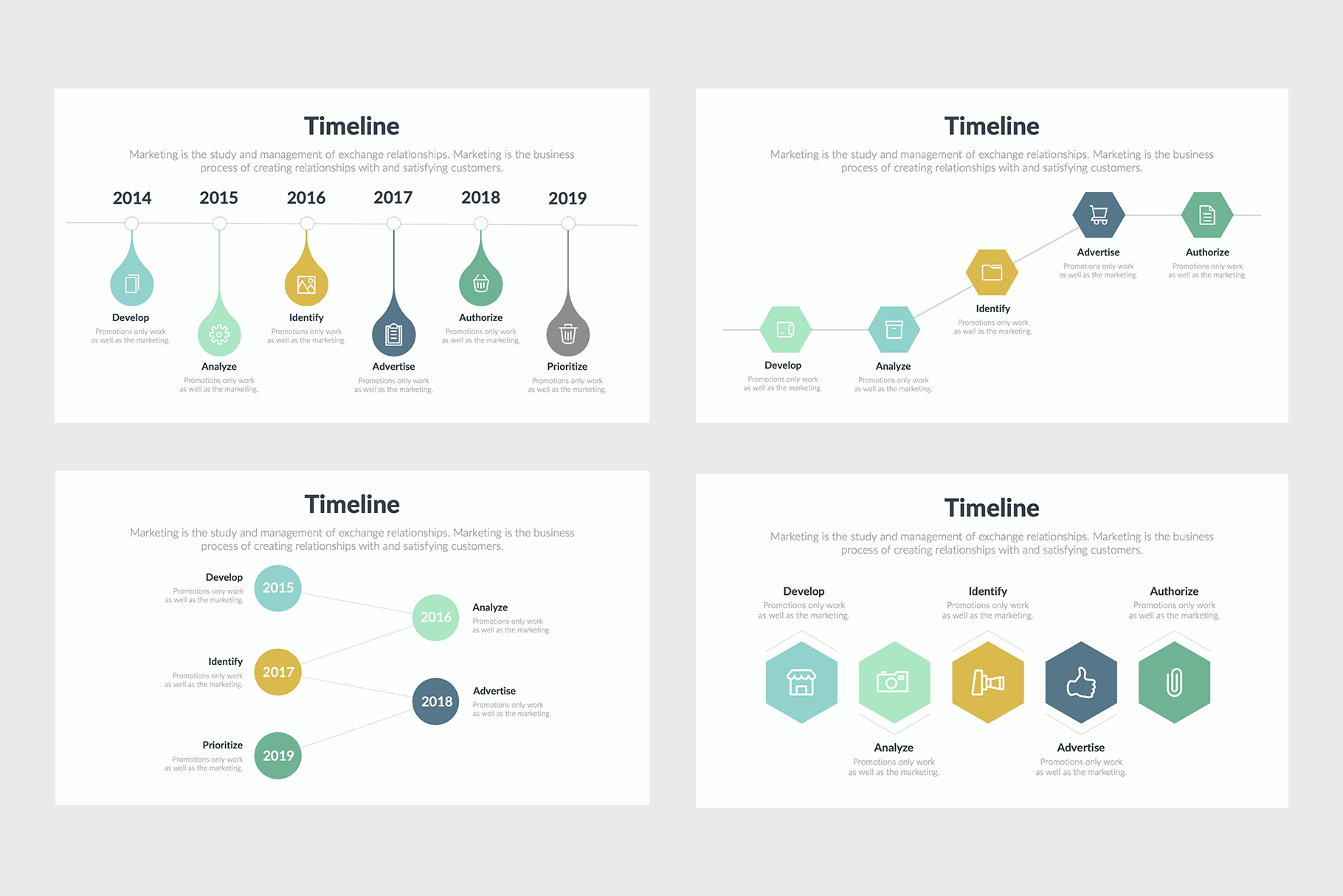 Timeline Infographics of this Year