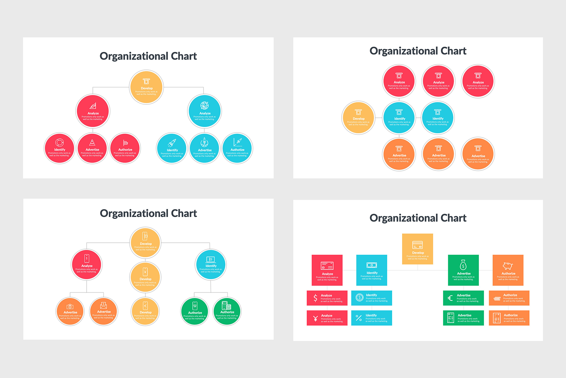 Organizational Charts for Your Concepts