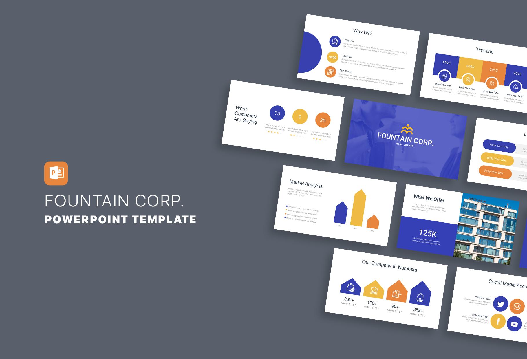 Great Real Estate PowerPoint Templates