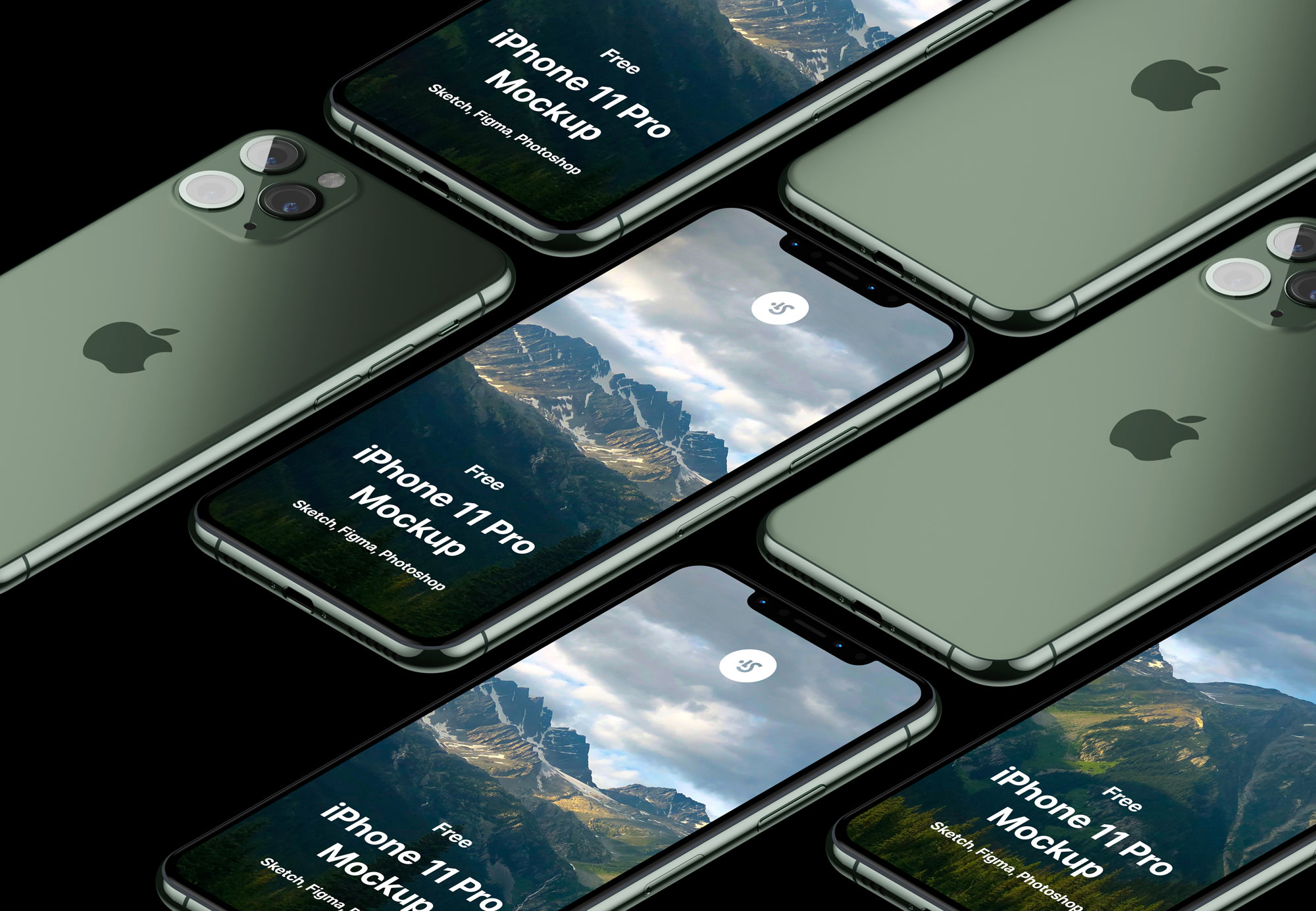 iPhone Mockups for Photoshop
